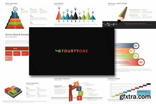 Fourty One - Powerpoint Template