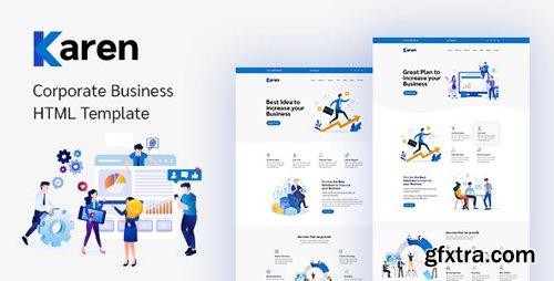 ThemeForest - Karen v1.0.1 - Corporate Business Bootstrap 4 Template - 24991951