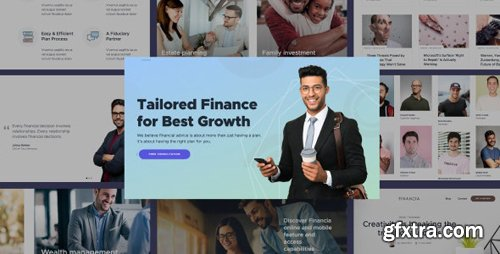 ThemeForest - Quaid v1.0 - Financial and Accounting HTML Templates - 25018985