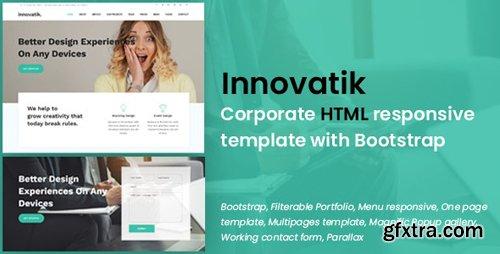 ThemeForest - Innovatik v1.0 - Corporate HTML responsive template (Update: 16 January 19) - 22096098