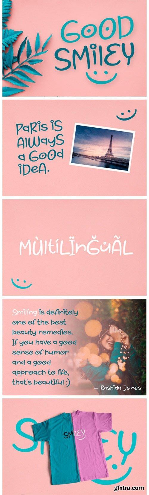 Good Smiley Font