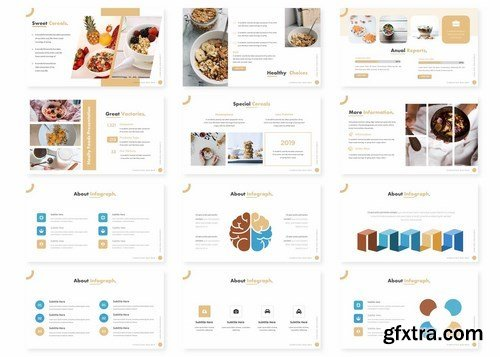 Nutrition - Powerpoint Google Slides and Keynote Templates