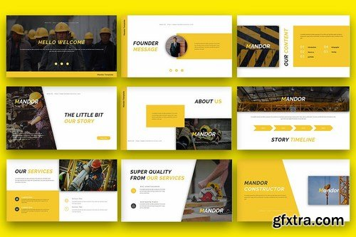 Mandor - Multipurpose Business Powerpoint Google Slides and Keynote Templates