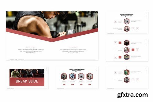 Athletics - Powerpoint Google Slides and Keynote Templates
