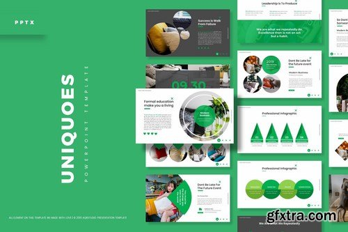 Uniquoes - Powerpoint Google Slides and Keynote Templates