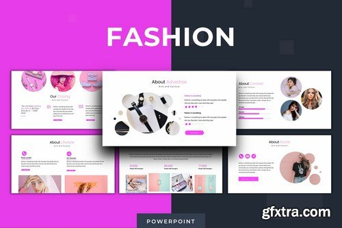Fashion - Powerpoint Google Slides and Keynote Templates