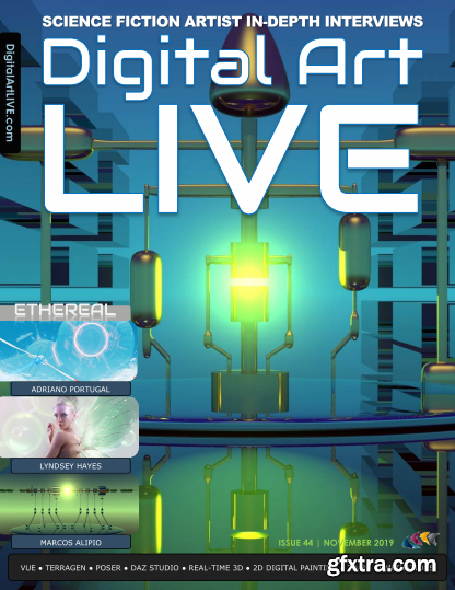 Digital Art Live - November 2019