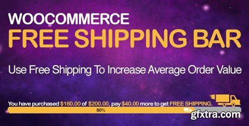 CodeCanyon - WooCommerce Free Shipping Bar v1.1.5.3 - Increase Average Order Value - 19536343