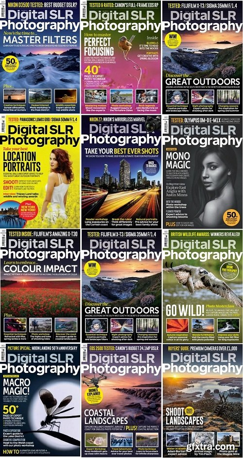Digital SLR Photography - 2019 Full Year Issues Collection