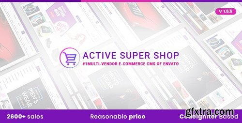CodeCanyon - Active Super Shop v1.5.5 - Multi-vendor CMS - 12124432 - NULLED