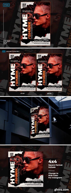 Dj Party Flyer Templates 2011326