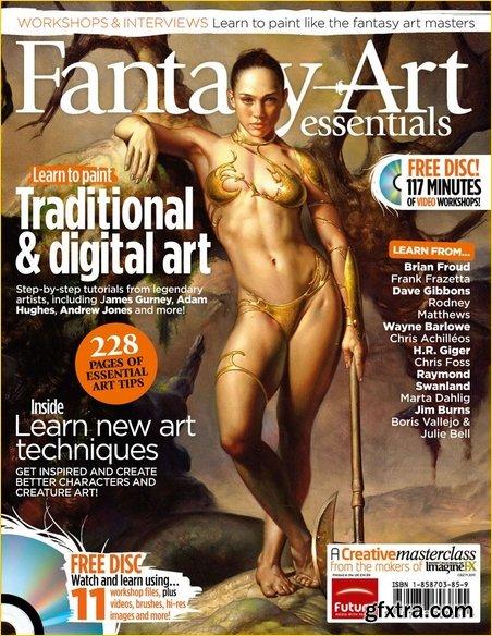 ImagineFX Presents: Fantasy Art Essentials – August 2011