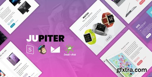 ThemeForest - Jupiter v1.0 - E-commerce Responsive Email Template with MailChimp Editor, StampReady & Online Builder - 25019578