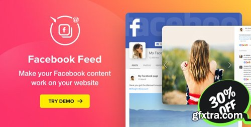CodeCanyon - Facebook Feed v1.12.0 - WordPress Facebook Plugin - 20611532