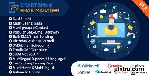 CodeCanyon - Smart SMS & Email Manager (SSEM) v4.0 - 14817919 - NULLED