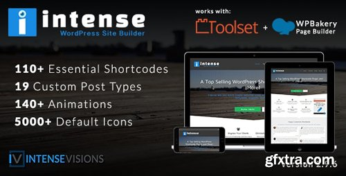CodeCanyon - Intense v2.9.6 - Shortcodes and Site Builder for WordPress - 5600492