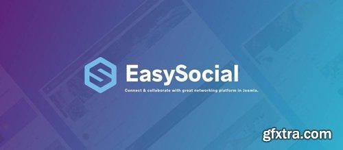 EasySocial Pro v3.1.9 - Social Network Extension For Joomla