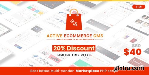 CodeCanyon - Active eCommerce CMS v1.6 - 23471405 - NULLED