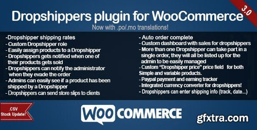 CodeCanyon - WooCommerce Dropshippers v3.0.9 - 7615263
