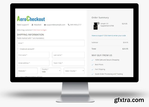WooFunnels - AeroCheckout v1.9.3 -  WooCommerce Checkout Pages