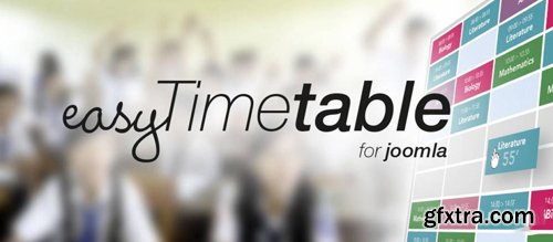 Easy Timetable Extended v1.8.8 - Joomla Extension