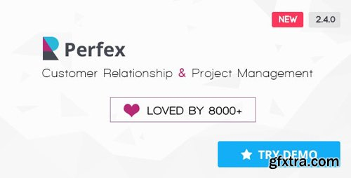 CodeCanyon - Perfex v2.4.0 - Powerful Open Source CRM - 14013737