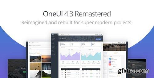 ThemeForest - OneUI v4.3.0 - Bootstrap 4 Admin Dashboard Template & Laravel 6 Starter Kit - 11820082