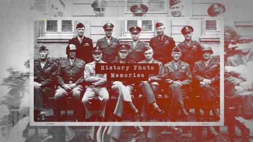 Videohive - History Photo Memories