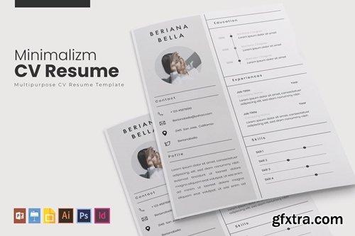 Minimalizm | CV & Resume