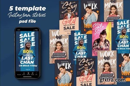 5 Fashion Sale Instagram Stories