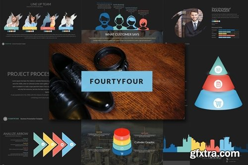 Fourty 4 - Powerpoint Template
