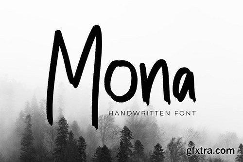 CM - Mona Modern Handwritten Font 4298661