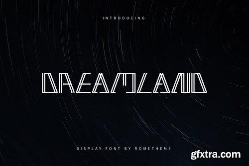 Dreamland - Display Font DR