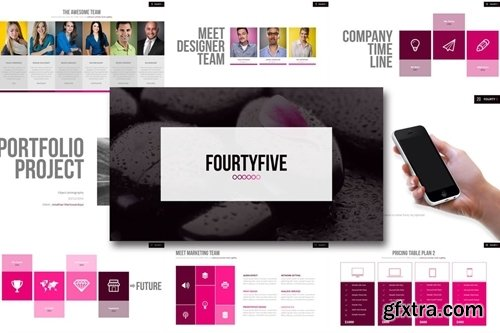 Fourty Five - Powerpoint Template