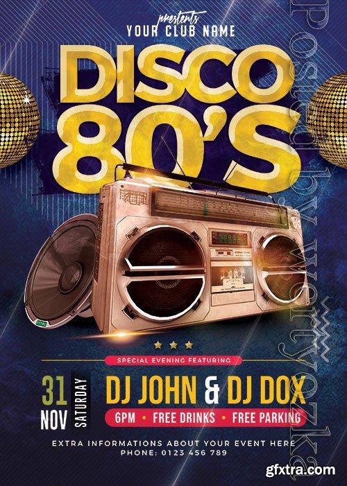 Classic Disco Party - Premium flyer psd template
