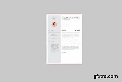 Melinda Account Resume Designer