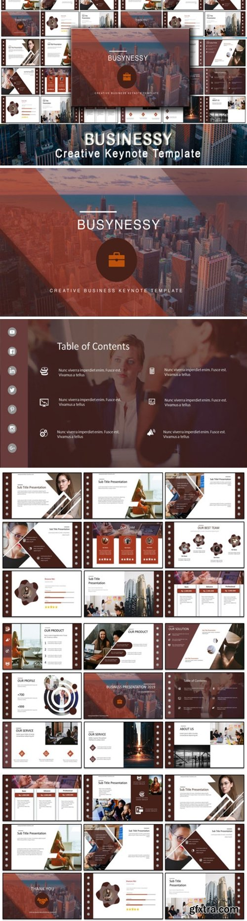 Businessy - Business Keynote Template 2013658