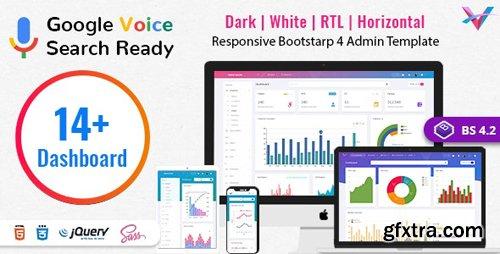 ThemeForest - VoiceX v4.2.1 - Bootstrap Admin Dashboard Template - 23860243