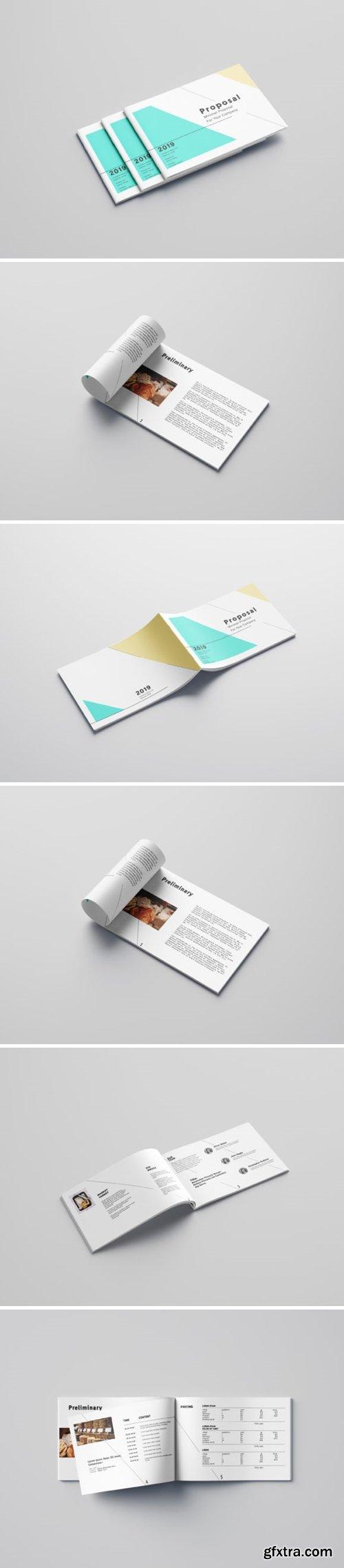 Minimalist Proposal Template Design 2013813