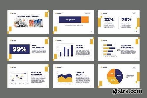 Tax Advisor PowerPoint Presentation Template