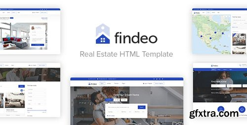 ThemeForest - Findeo v1.0 - Real Estate HTML Template (Update: 29 July 19) - 18936684