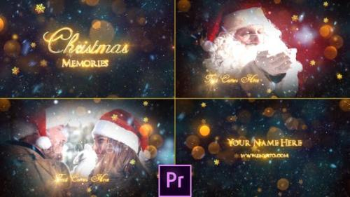Videohive - Christmas Memories Slideshow - Premiere Pro