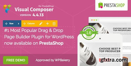 CodeCanyon - Visual Composer v4.4.12 - Page Builder for Prestashop - 11336599