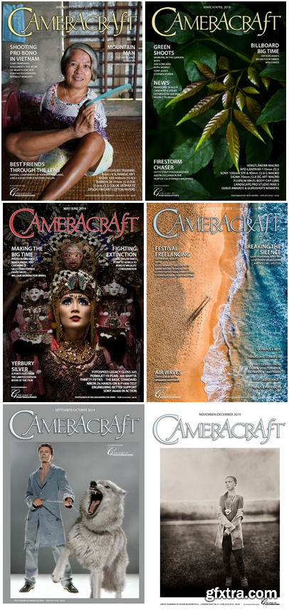 CameraCraft - 2019 Full Year Issues Collection