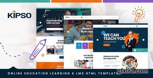 ThemeForest - Kipso v1.0 - Online Education Learning & LMS HTML Template - 25035735