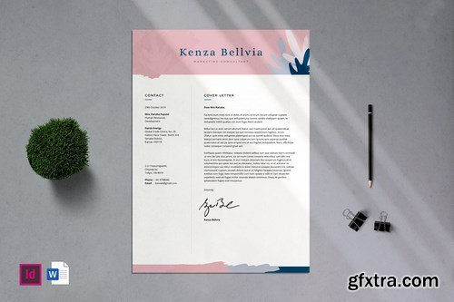 Professional CV Resume - 06