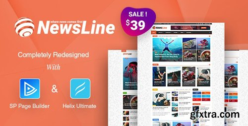 ThemeForest - Newsline v3.1 - Responsive Magazine Joomla Template - 7356271