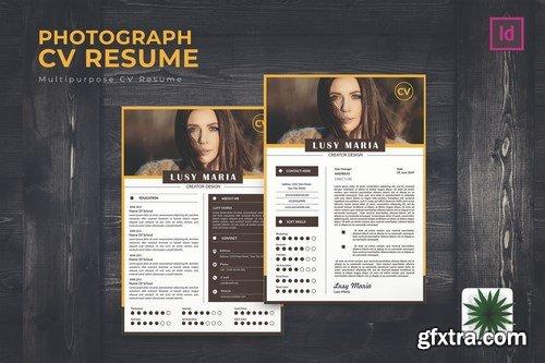 Photograph CV Resume