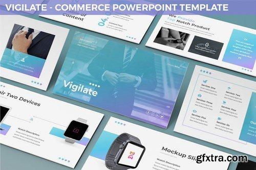 Vigilate - Commerce Powerpoint Template