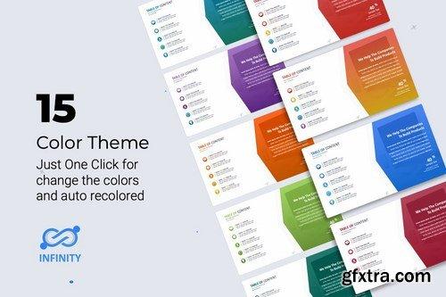 Infinity Marketing Plan Presentation Template